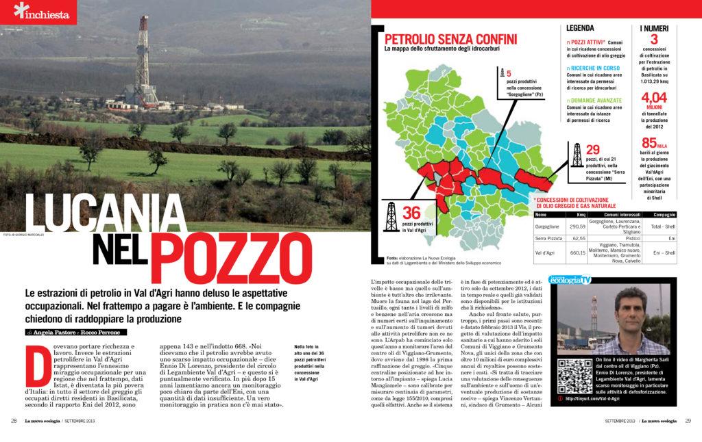 Inchiesta petrolio in Basilicata